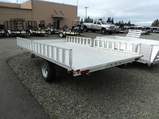 2017 Aluma 7X12 3 PLACE QUAD TRAILER