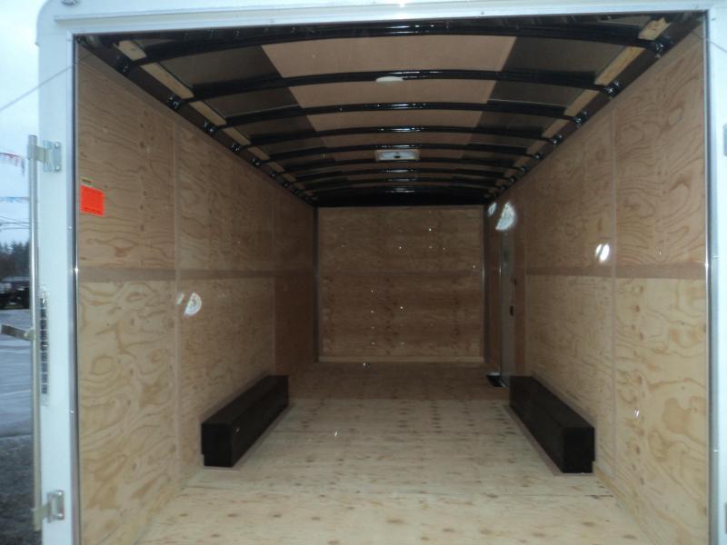 "2018 Cargo Mate Blazer 8.5x20 7K w/12"" Additional Height/Rear ramp door/Extended tongue"