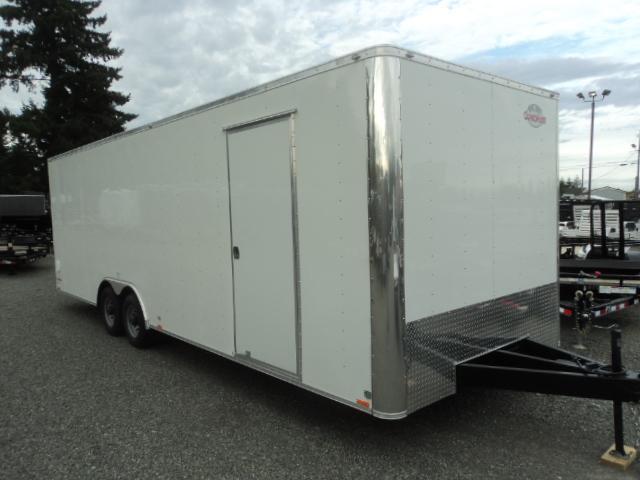 "2018 Cargo Mate E-series 8.5x24 10K 6"" Extra Height Enclosed Cargo Trailer"