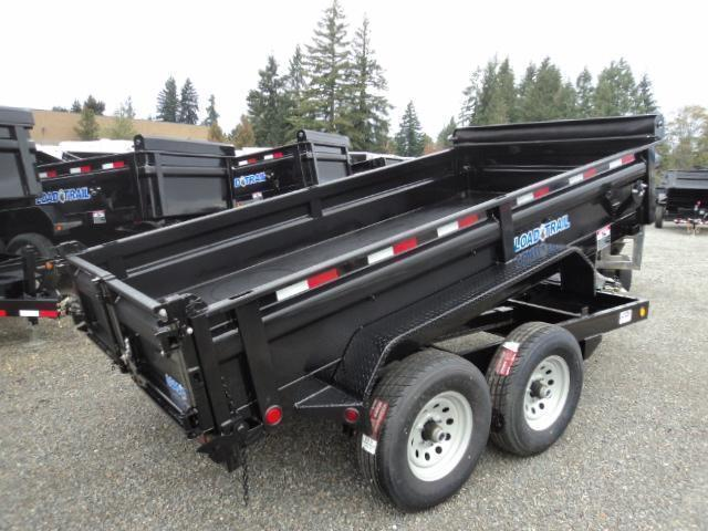 "2018 Load Trail 6X12 10K w/Tarp Kit 18"" Sides Tandem Axle Dump"