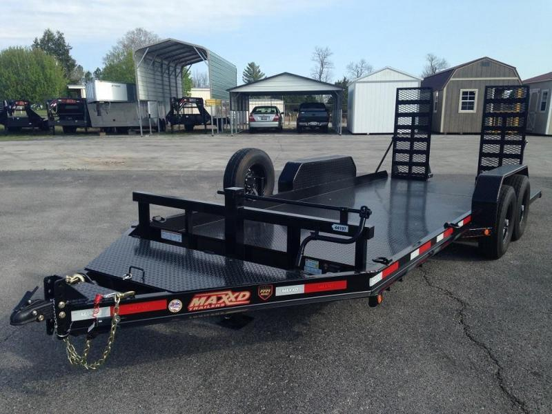 82 x 18 Skid-Steer Trailer - Maxxd