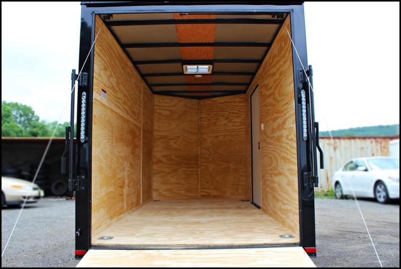 2018 Lark 6x12 Enclosed Cargo Trailer [BLACKOUT]