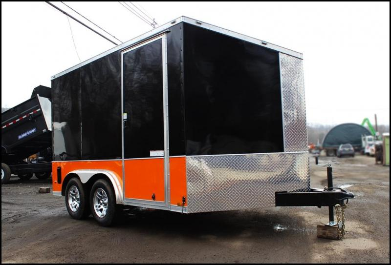 2018 Anvil 8x12 Enclosed Cargo Trailer [Motorcycle Package - Harley]