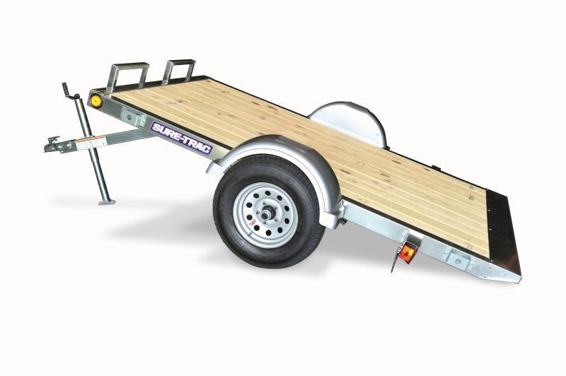 2018 Sure-Trac 5x8 Galvanized Tilt Utility trailer