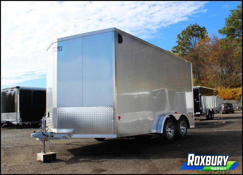 2018 EZ Hauler 7.5X14 Aluminum Enclosed Cargo Trailer