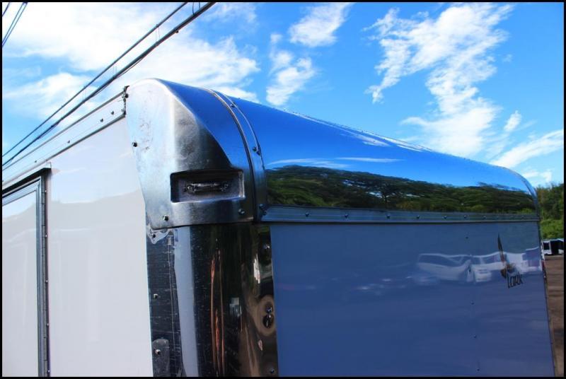 2018 Lark United 8.5x24 Enclosed Car Hauler Trailer [RACE PACKAGE]
