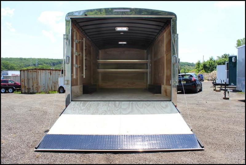 2018 Sure-Trac 8.5x18 10K Landscape Pro Enclosed Cargo Trailer