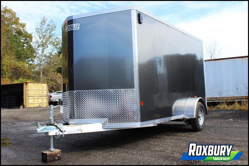 2018 EZ Hauler 6x12 Aluminum Enclosed Cargo Trailer