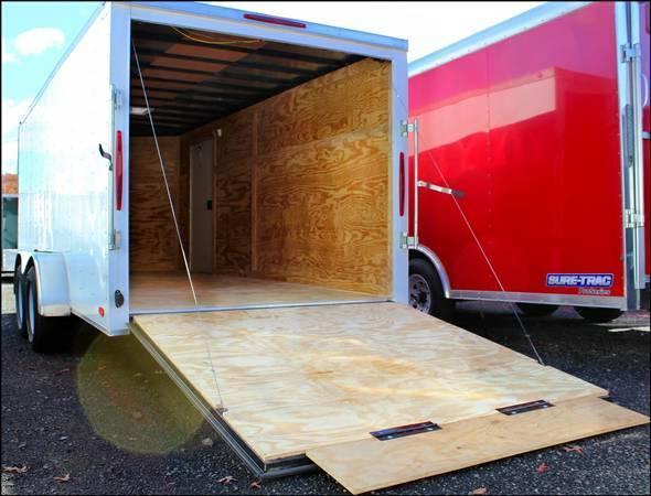 2017 Nexhaul 7x16 Enclosed Cargo Trailer