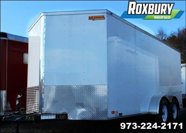 2017 Nexhaul 7x16 Enclosed Cargo Trailer