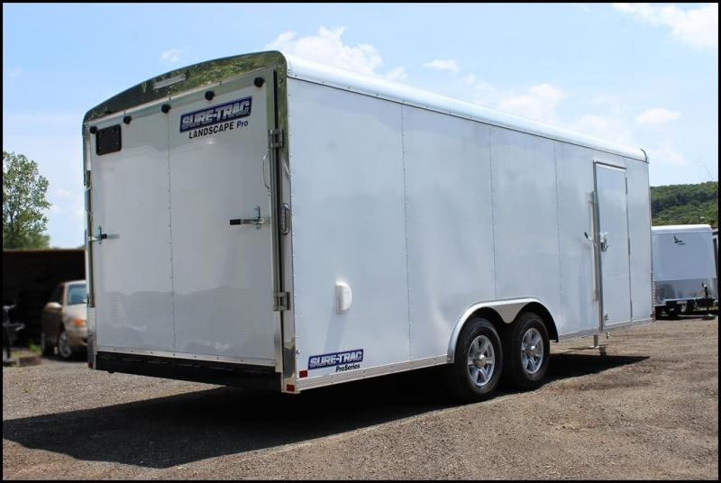 2017 Sure-Trac 8.5x20 10K Landscape Pro Enclosed Cargo Trailer