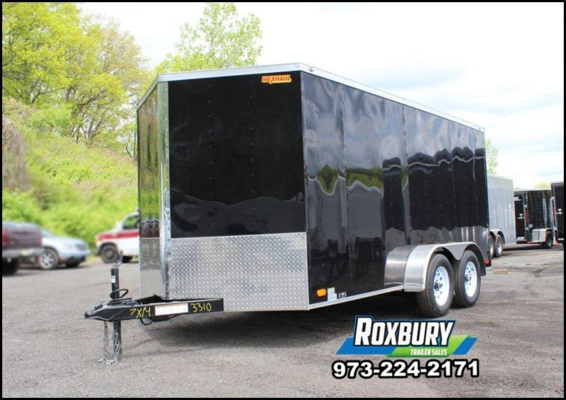 2018 Nexhaul 7X14 Enclosed Trailer