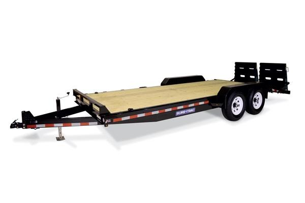2018 Sure-Trac 7x17+3 Universal Ramp Implement Equipment Trailer