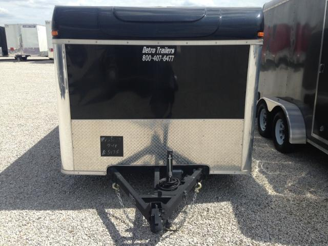 2013 United Trailers 7 x 14 Enclosed Motorcycle Trailer