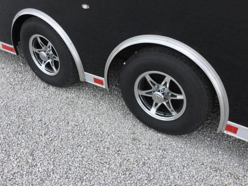 2017 American Hauler Industries 8.5X28 NIGHT HAWK Car / Racing Trailer