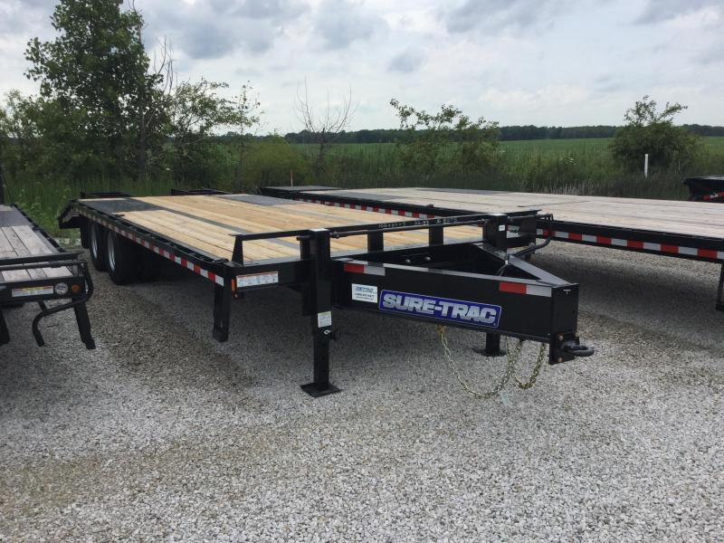 2017 Sure-Trac hd low profile beavertail deckover