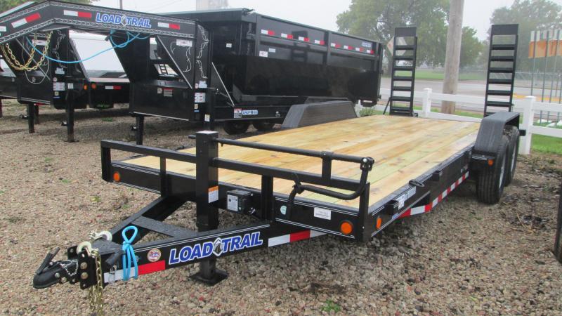 2018 Load Trail 83 X20 Tandem Axle Carhauler Equipment Trailer