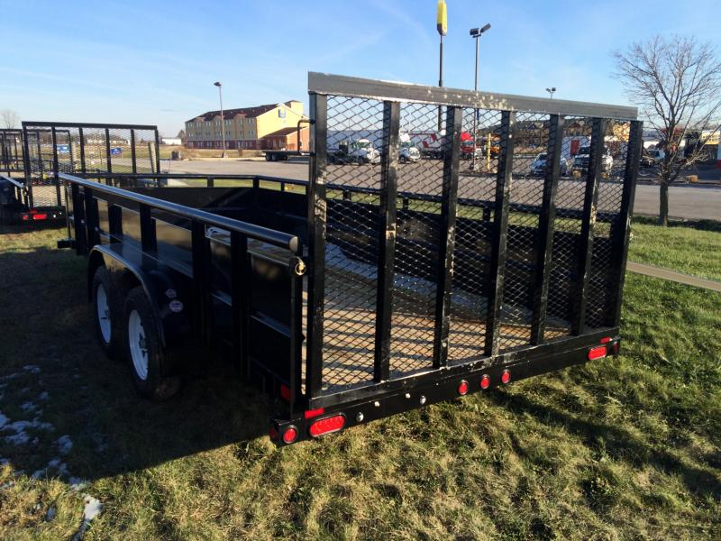 2016 Big Tex Trailers 70TV-16BK Utility Trailer