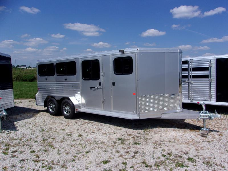 2017 Frontier 6 Pen Low Pro Livestock Trailer
