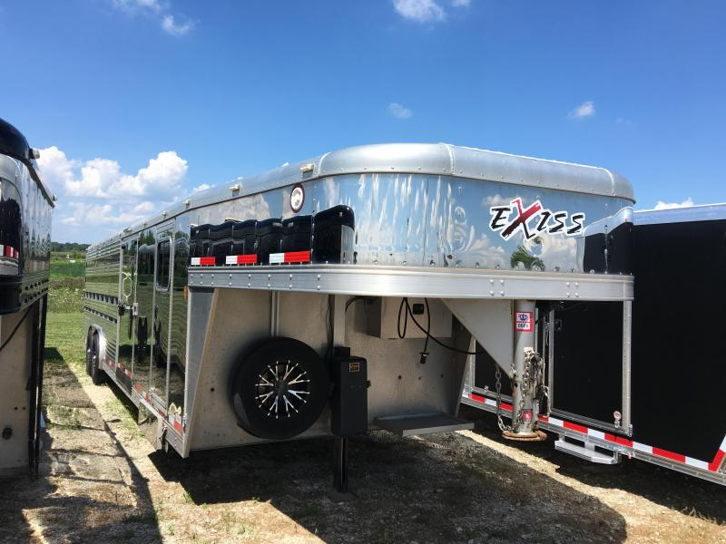 2012 Exiss Trailers C-STCLP 828 Horse Trailer