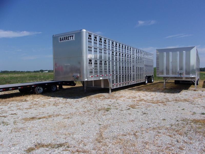 2017 Barrett Trailers 53 Cattle pot Livestock Trailer