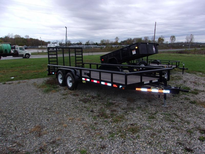 2016 Big Tex Trailers 10PI-18BK4HDIR Equipment Trailer