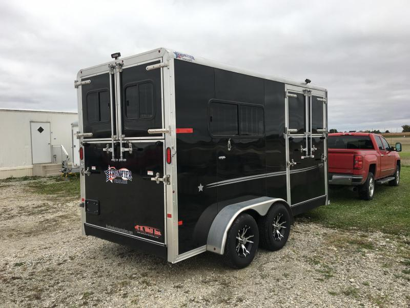 2016 Frontier Fast Track Horse Trailer