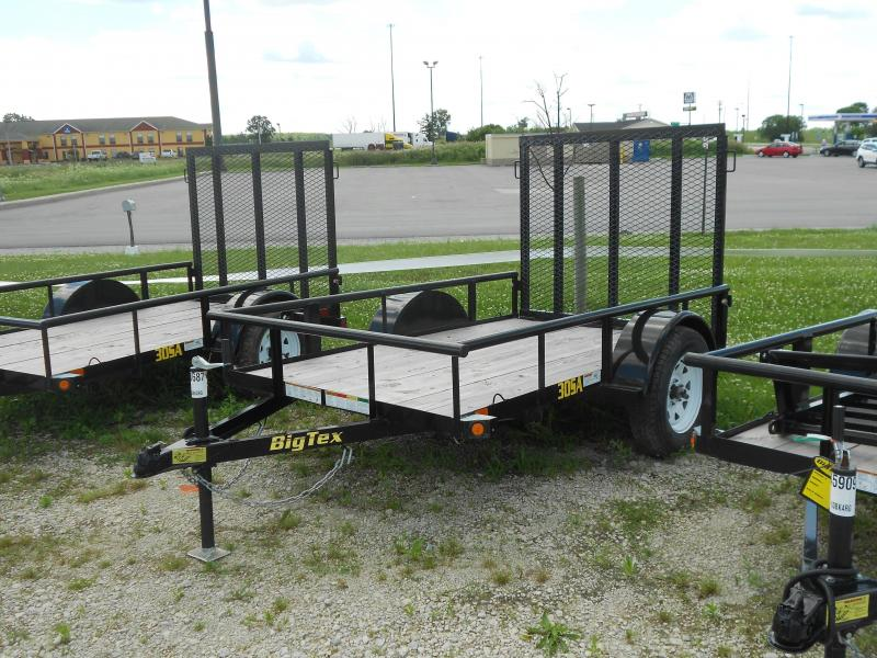2016 Big Tex Trailers Big Tex 30SA 5x8 Flatbed Trailer