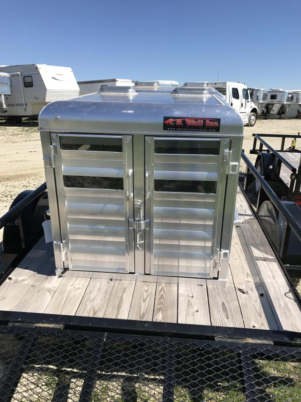 2017 exiss trailers popper truck boxes livestock and dog