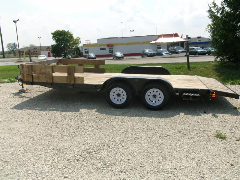 2013 American Manufacturing Operations 18' Bumper Pull Trailer
