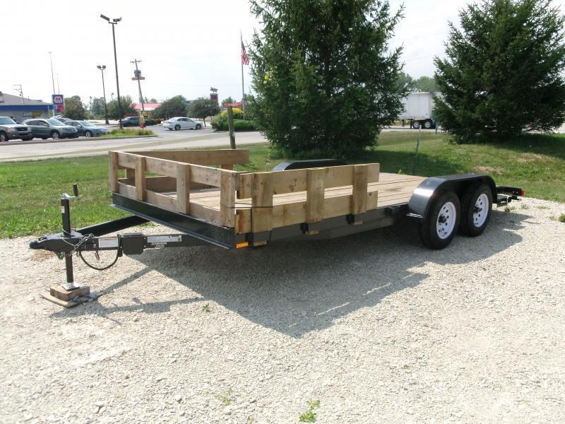 2013 American Manufacturing Operations 18' Bumper Pull Trailer