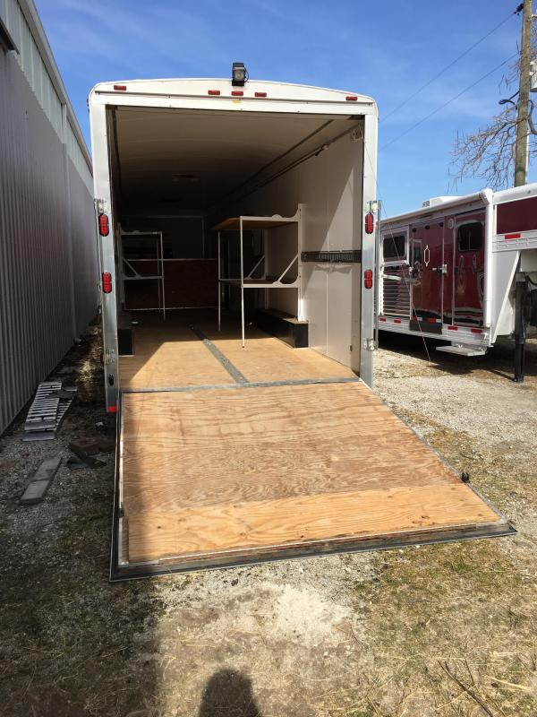 2010 Homesteader Inc. G40H3 Enclosed Cargo Trailer