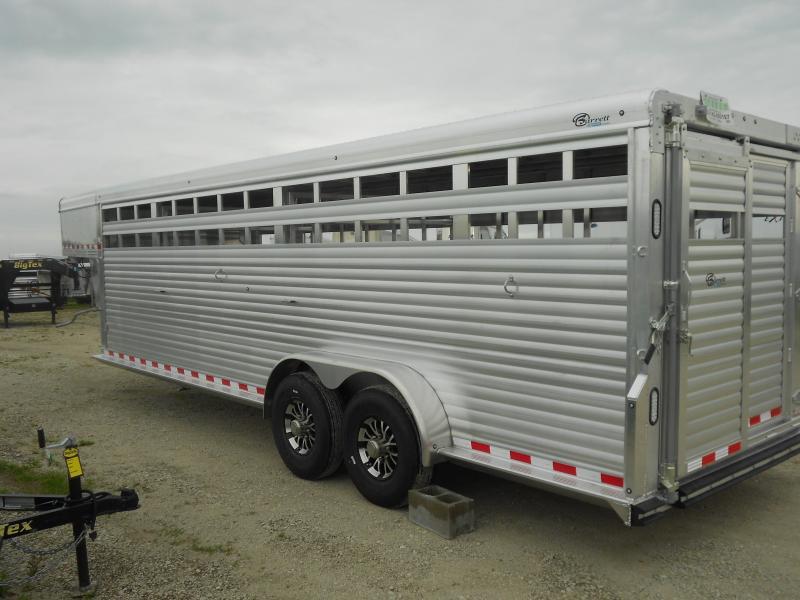 2017 Barrett Trailers SSGN-247066 Livestock Trailer