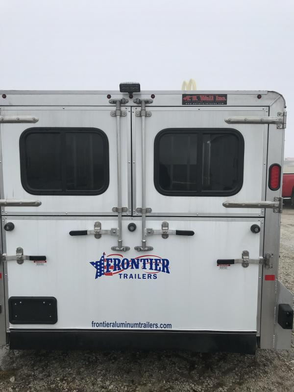 2018 Frontier STOCK LOW PRO 7X16 6 PIN Livestock Trailer