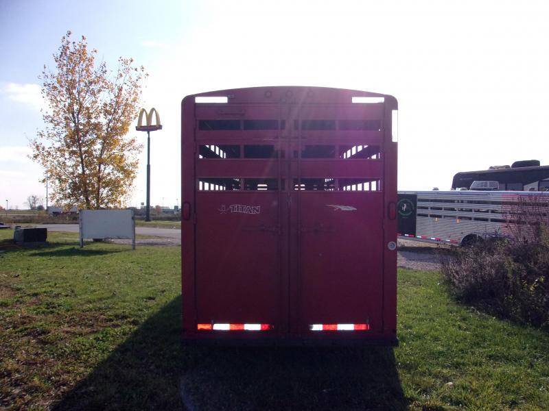 2007 Titan Trailers 7x28 Stock Trailer Livestock Trailer