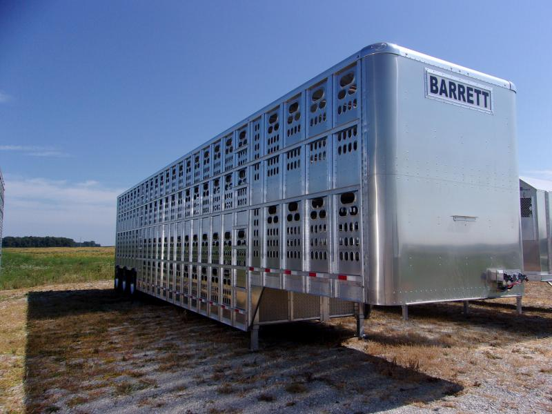 2017 Barrett Trailers Barrett 53 Cattle Pot HT-250 Livestock Trailer