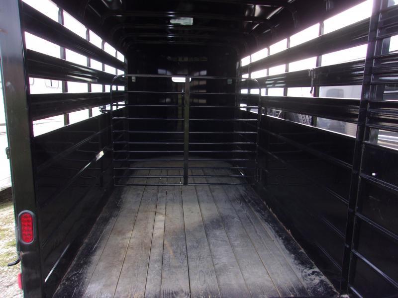2016 CM 6 x 15 Stocker Livestock Trailer