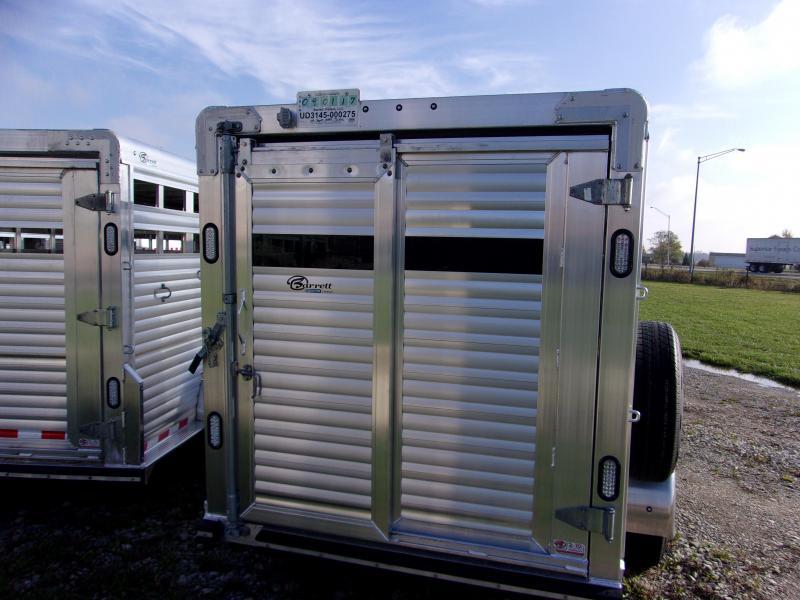 2018 Barrett Trailers 16 Stock Livestock Trailer