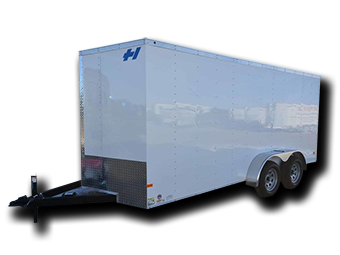 2017 Haulmark TH7X16DT2 Enclosed Cargo Trailer