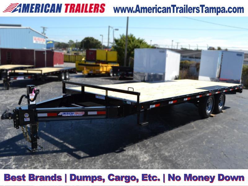 8.5x20 Lamar Trailers | Equipment Trailer [Deckover]