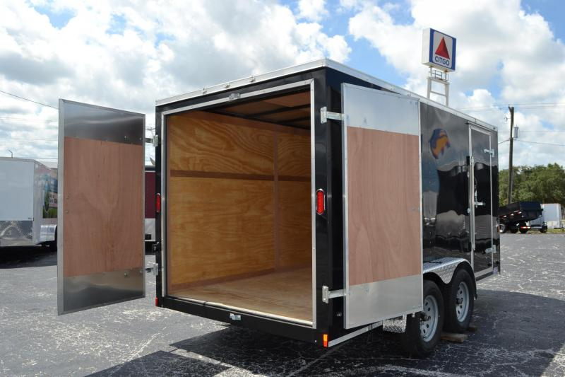 7x14 Continental Cargo | Enclosed Trailer [Barn Doors]