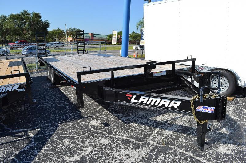 8.5x24 Lamar Trailers | Equipment Trailers [Deck Over]