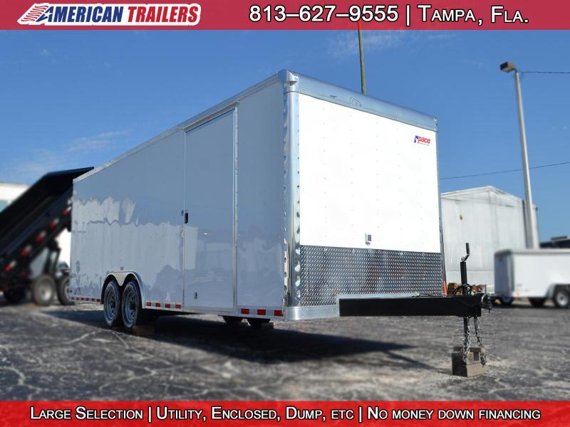 2018 Pace American Car Carrier Enclosed