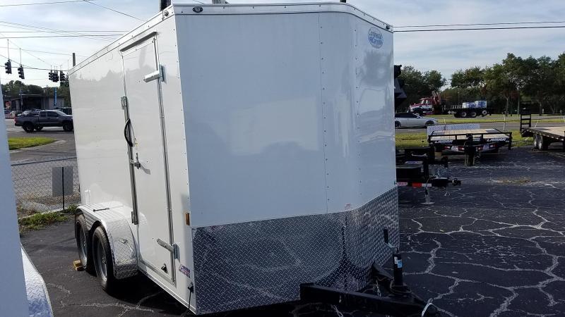 7x12 Continental Cargo | Enclosed Trailer Ramp Door