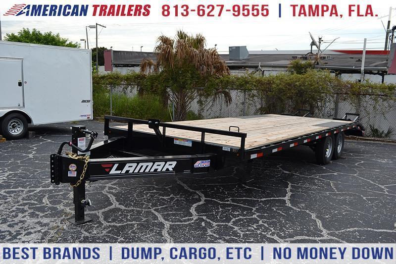 8.5x24 Lamar Trailers | Equipment Trailers [Deck Over]