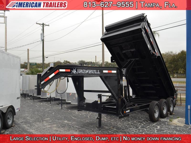 7x14 Iron Bull | Dump Trailer [Gooseneck]