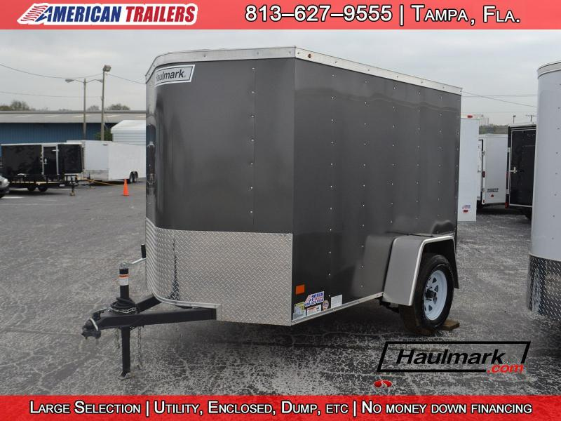 5x8 Haulmark | Enclosed Trailer [Charcoal]