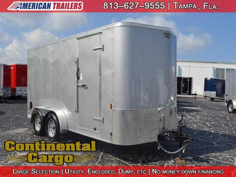 2018 7x14 Continental Cargo | Enclosed Trailer