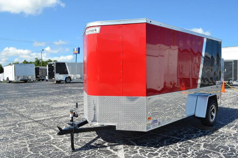 2017 6x12  Haulmark Enclosed Enclosed Cargo Trailer