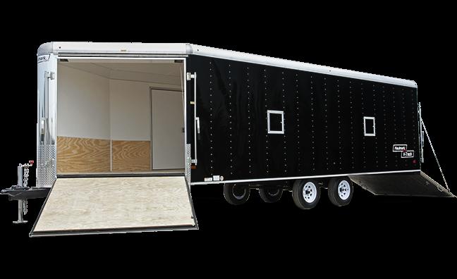 2017 Haulmark RVT85X18DT2 Snowmobile Trailer